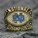 1988 Notre Dame Fighting Irish Football NCAA National championship ring 8-14S ingraved inside