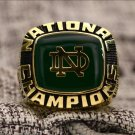 1977 Notre Dame Fighting Irish Football NCAA National championship ring 8-14S for JOE MONTANA