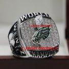 2018 PHILADELPHIA EAGLES SUPER BOWL LII Football world Championship Ring copper solid 8S