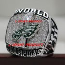 2018 PHILADELPHIA EAGLES SUPER BOWL LII Football world Championship Ring copper solid 9S