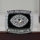 1976 Los Angeles Oakland Raiders Super bowl XV CHAMPIONSHIP RING  Player Anderson 8-14S copper