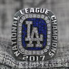 OFFICAL ONE NL National League 2017 Los Angeles Dodgers world series championship ring 13S