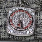 National Championship Ring 2017 2018 Oklahoma Sooners Big 12 Necklace +22 inch chain