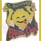 I Survived Blitz Day Smiley Walmart Pin