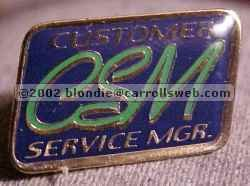 Customer Service Manager CSM Walmart Lapel Pin