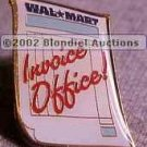 Invoice Office Walmart Lapel Pin