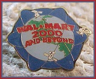 2000 and Beyond Walmart Lapel Pin 2