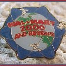 2000 and Beyond Walmart Lapel Pin 2