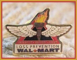 Loss Prevention Walmart Lapel Pin