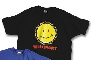 Wal-mart Black Tshirt Size Men's XL Walmart Creed
