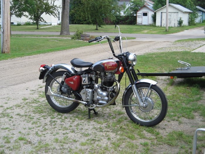 2002 500cc Royal Enfield Bullet Motorcycle