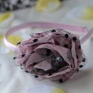 flower headband-light pink