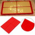 Waffles Cake Chocolate Pan Silicone Mold Baking Mould Kitchen Safety 4-Cavity