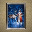 DIY 5D Diamond Painting Santa Claus Christmas Embroidery Cross Stitch Home Decor