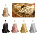 1,2M Sparkle Table Cloth Round Bling Sequin Tablecloth Cover Wedding Party Decor