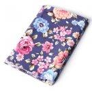Cotton Fabric Flower Needlework Sewing Textile Handmade Clothing DIY Crafts