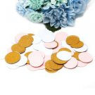 100Pcs Glitter Circles Paper Table Throwing Confetti Wedding Party Decoration