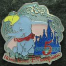 Disney Pin 2011 HKDL Mystery Tin Pin 5th Anniversary Collection - Dumbo
