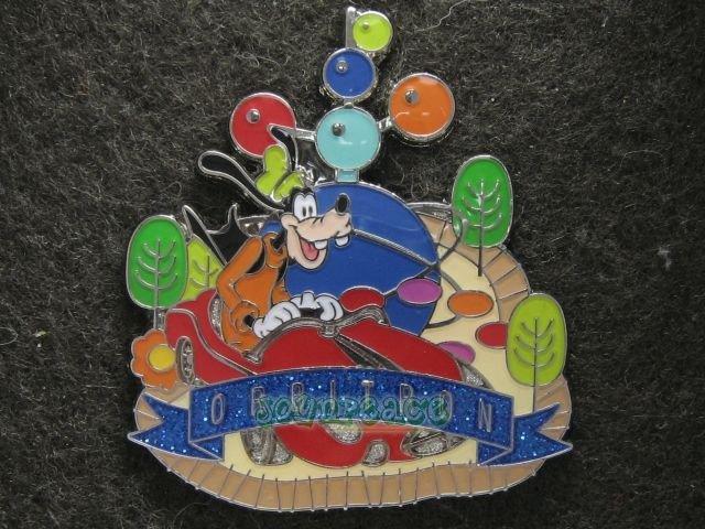 Disney 2010 Pin HKDL Disney Attraction�s Collection - Orbitron (Goofy)