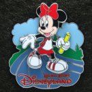 Disney Pin HKDL 2008 Olympic Game Minnie as Relayer