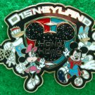 Disney Pin HKDL Sporting Collection - Fab 4 with Shield