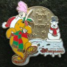 Disney Pin 2005 HKDL Pooh and Friends Christmas 2005