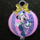 Disney Pin HKDL Christmas 2007 - Mickey in X'm Ornament