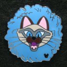 Disney 2008 Hidden Mickey Cat Collection Completer Pin (Blue)