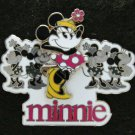 Disney Pin HKDL 2008 Minnie Mouse with Minnie Mouses