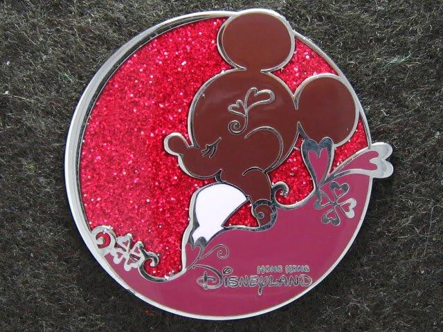 Disney Pin HKDL 2008 Minnie Mouse Silhouette