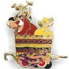 53032 Disney 2008 HKDL Mystery Tin Character Train Collection - SIMBA & PUMBAA