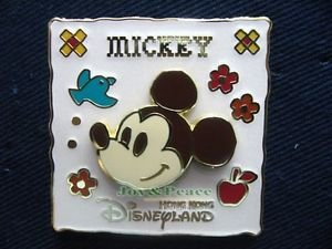 54642 Disney Pin 2007 HKDL - Classic Mickey Mouse