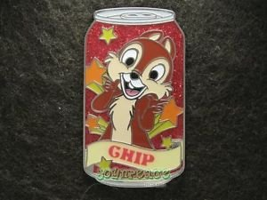 66507 Disney Pin 2009 HKDL Mystery Tin Pin Soda Can Collection - Chip