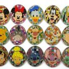 73658S Disney 2009 HKDL Mystery Tin Pin Mosaic Collection - Full Set of 15 Pins