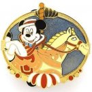 61079 Disney Pin 2008 HKDL Mystery Tin Pin Carousel Collection - Mickey