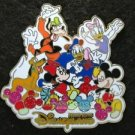 67094 Disney Pin 2009 HKDL - Mickey Icon Balloon - Fab 6 (White)