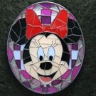 73735 Disney Pin 2009 HKDL Mystery Tin Pin Mosaic Collection - Minnie