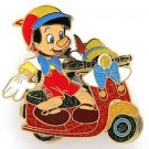 84006 Disney Pin 2011 HKDL Mystery Tin Pin Motorbike Collection - Pinocchio