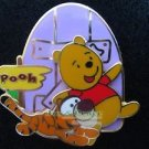 57796 Disney Pin 2007 HKDL - Cute Characters - Pooh & Tigger at Pooh's Door