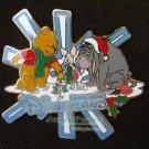 42808 Disney Pin 2005 HKDL - Christmas 2005 (Pooh, Piglet & Eeyore)
