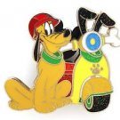 84005 Disney Pin 2011 HKDL Mystery Tin Pin Motorbike Collection - Pluto