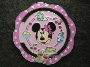 69780 Disney Pin 2008 HKDL - Minnie Mouse (Sliding Cherry)