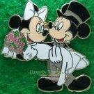 24415 Disney Pin 2005 HKDL - Bride & Groom (Mickey & Minnie)
