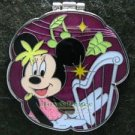 Disney Pin 2009 HKDL - Minnie's Music Instrument Series - Harp (Flip Photo)