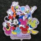 67093 Disney Pin 2009 HKDL - Mickey Icon Balloon - Fab 5 (Purple)