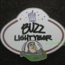 78006 Disney Pin 2010 HKDL Mystery Tin Pin Name Tag Collection - Buzz Lightyear