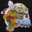 43213 Disney Pin 2005 HKDL - Pooh and Friends Christmas 2005