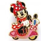 84000 Disney Pin 2011 HKDL Mystery Tin Pin Motorbike Collection - Minnie