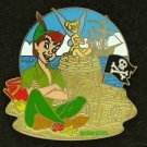 89970 Disney 2011 HKDL Mystery Pin Golden Beach Coll - Peter Pan Tinker Bell
