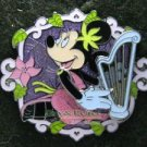 Disney Pin 2009 HKDL - Minnie's Music Instrument Series - Harp